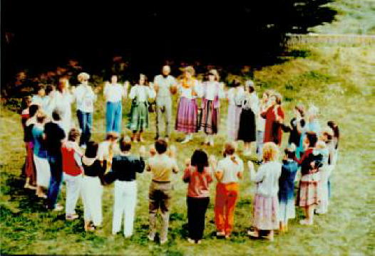 Findhorn 1985, Prayer Dance